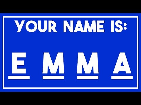 I will guess your NAME in one minute! - Original Math Trick [2018]
