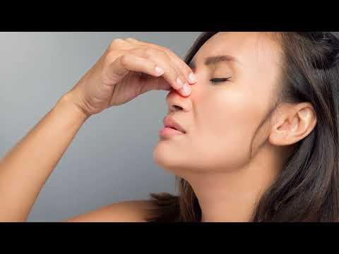 Как вылечить раздражение под носом после насморка?