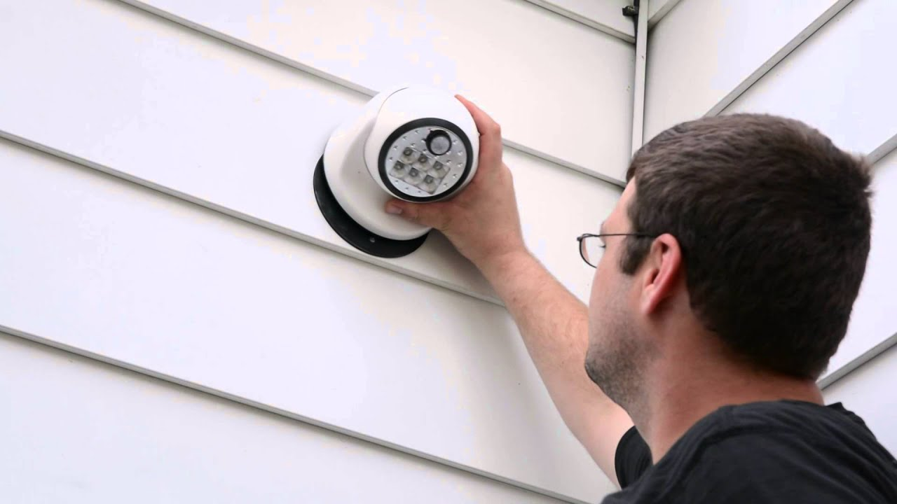 Fulcrum\'s Motion Sensing LED Porch Light - YouTube