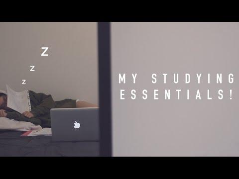 My Studying Essentials!