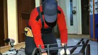 Установка межкомнатных дверей и врезка замка  видео 3 (, 2010-09-24T09:53:44.000Z)
