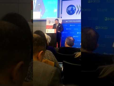 Robert Fico, Prime Minister of Slovakia at OECD Integrity Forum