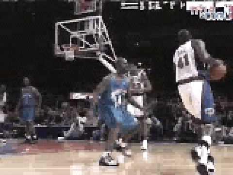 Glen Rice Knicks dunk
