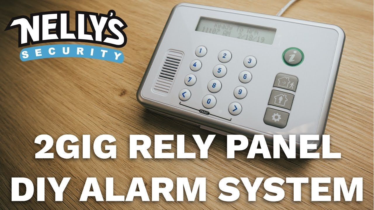 the 2gig rely panel a revolutionary diy home alarm system nelly s security [ 1280 x 720 Pixel ]
