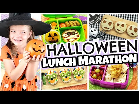 HALLOWEEN HOME TOUR AND LUNCH MARATHON 🎃 BUNCHES OF LUNCHES