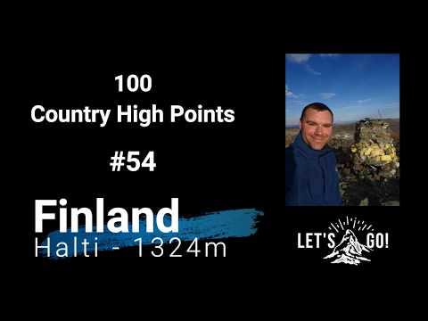 #54 Finland, Halti - 1324m