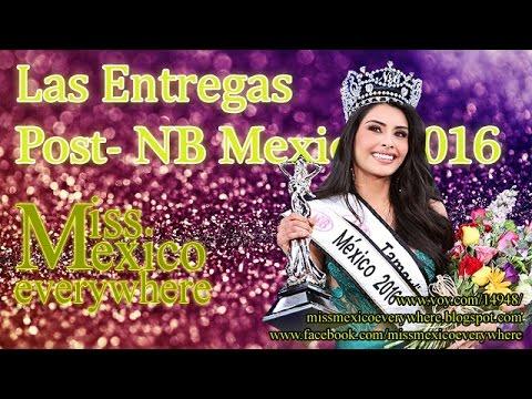 Entrega Post Nuestra Belleza Mexico 2016 - Parte 1 / 4