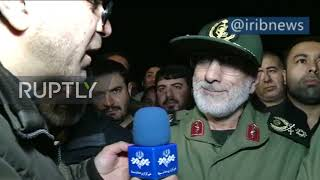 """Iran: New Quds Force top general Ghaani promises """"expulsion of US"""" from region"""