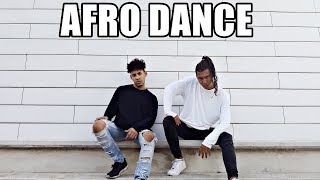 AFRO DANCE CHOREOGRAPHY