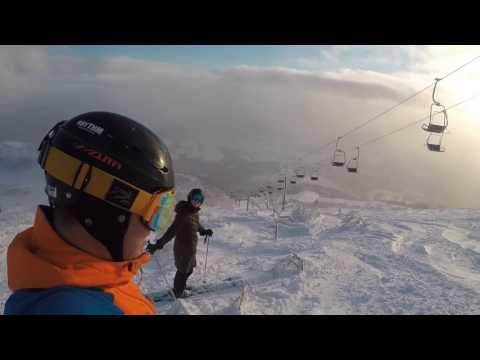 Skiing Niseko, Japan in December 2016