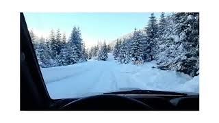 дорога до горнолыжного курорта Тетнулди