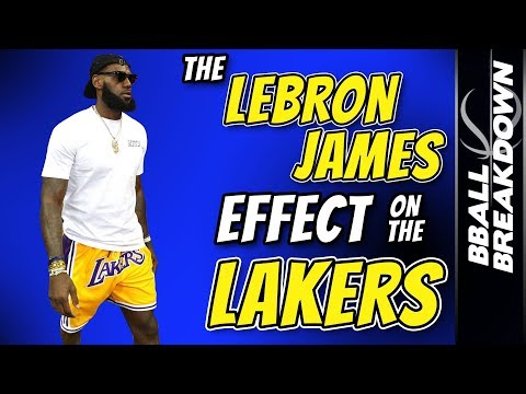 The LEBRON James Effect On The LAKERS