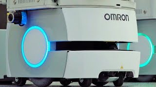 BMW Plant Dingolfing - Smart Transport Robots And Tugger Trains