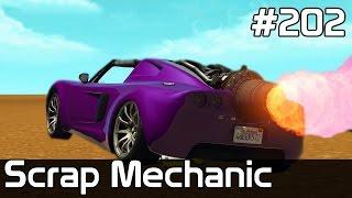 Scrap Mechanic Po Polsku [#202] BUDUJEMY z GTA Online na PÓŁ