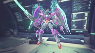 Gundam Breaker 2 - Gundam Cafe Mission 12 (00 Qan[T])