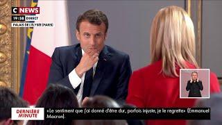 Emmanuel Macron répond à Laurence Ferrari
