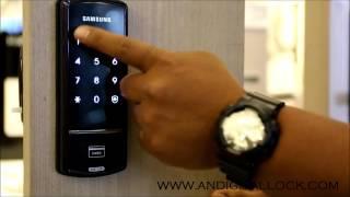 Samsung SHS 1321 Digital Lock Demo