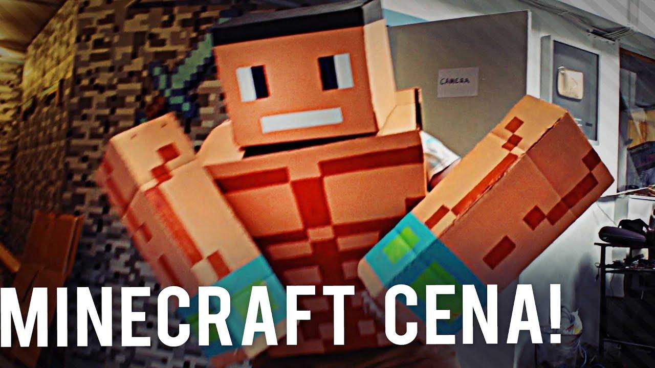Minecraft John Cena - YouTube