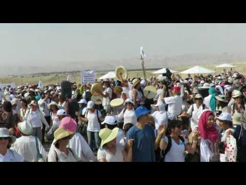 Women Wage Peace - Israelis and Palestinians at Kaser El Yahud