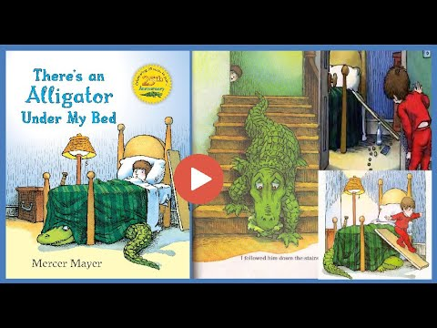 There's an Alligator under My Bed (◔◡◔) - Goodreads Great Story :-)