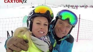 Chemmy Alcott - Behind the Scenes at Ski Sunday