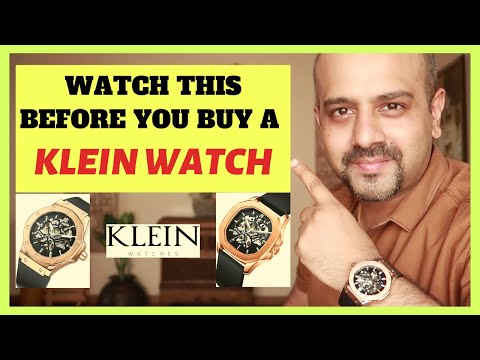 Watch This BEFORE You Buy A KLEIN WATCH ⌚