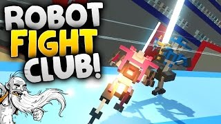 """Clone Drone in the Danger Zone Gameplay - """"ROBOT FIGHT CLUB!!!""""  - Let"""