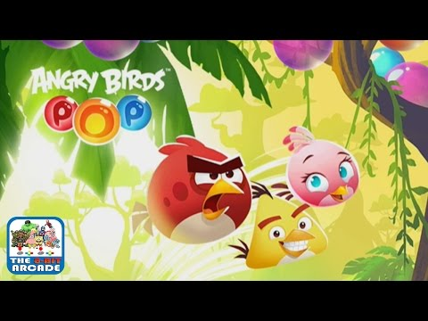 Angry Birds Pop - Topple The Piggies In This Bubble Shooter (iPad Gameplay, Playthrough)