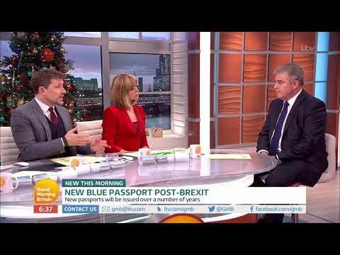 New Blue Passport Post-Brexit | Good Morning Britain