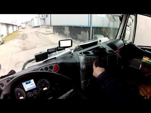 Okiem kierowcy - manewrowanie TIRem