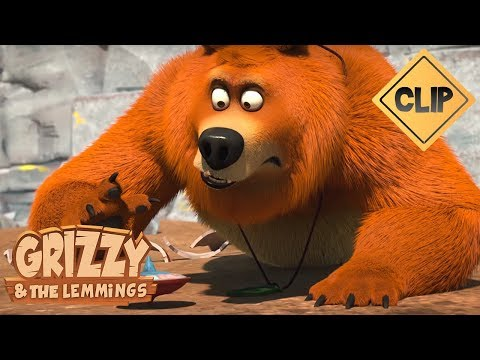 Une Toupie Magique Pour Grizzy - Grizzy & Les Lemmings
