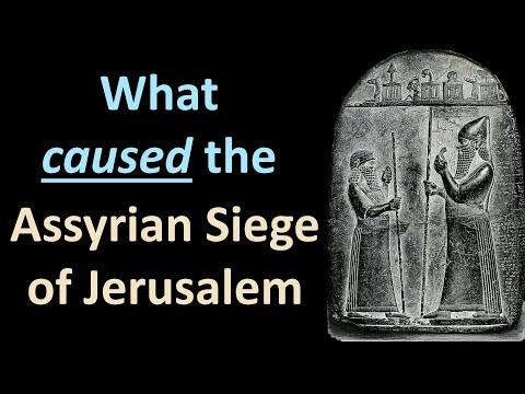 The Assyrian Siege Of Jerusalem