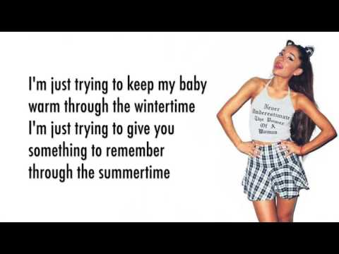 Ariana Grande - December (Lyrics)