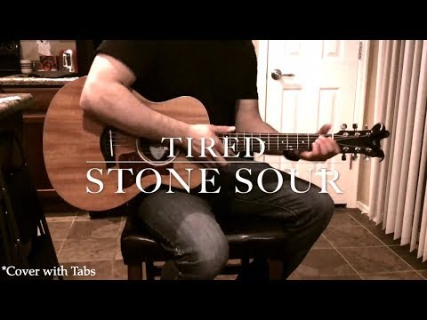 Stone Sour - Tired (Cover with Tabs)