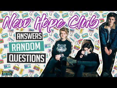 New Hope Club Answers Random Questions Mp3