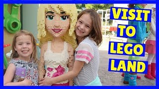 Addy and Maya Go To LEGOLAND !!!