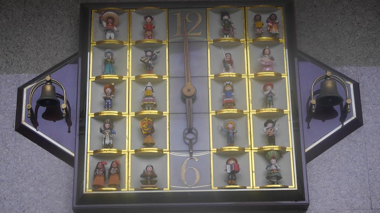 台中そごう からくり時計 世界人形時計