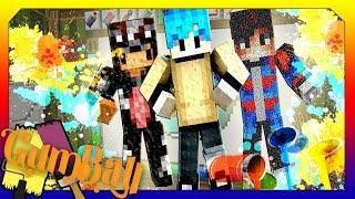 Vẽ Channy và Mazk ( Minecraft Vẽ Tranh )