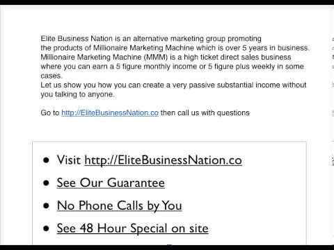millionaire marketing machine review