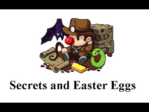 Spelunky Secrets and Easter Eggs
