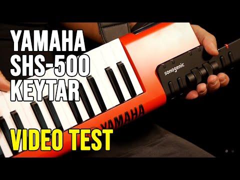 Yamaha Sonogenic SHS-500 Keytar Video Test
