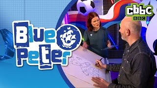 The Dumping Ground illustrator shows us how to draw on Blue Peter - CBBC