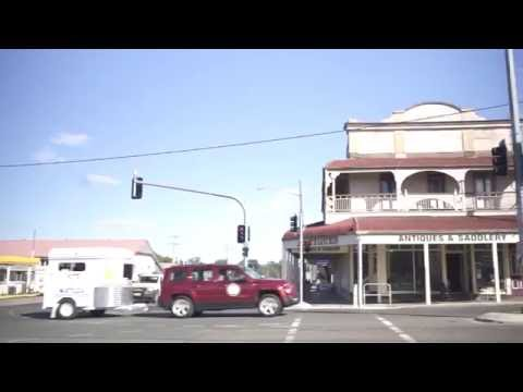 On the road — Division of Maranoa