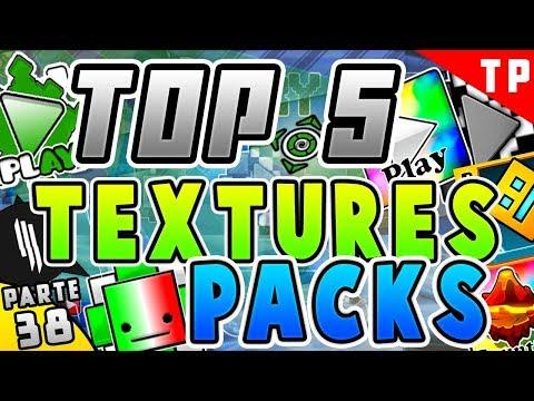 Top 5 MEJORES Textures Packs Para Geometry Dash 2.11 [#38]  - Raxter