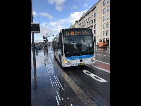 2017-08-05: Luxemburg City Bus from Central Station to the Airport