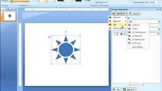 Adding Custom Animation in PowerPoint 2007