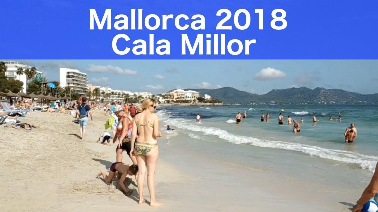 Mallorca Cala Millor Beach Today 5 Minutes Video Vaccation