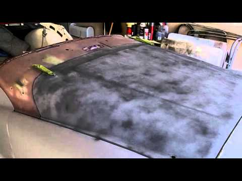 Epoxy Priming and Block Sanding Bonnet