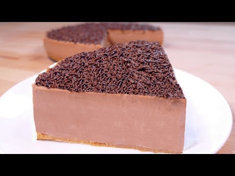 tasty No bake chocolate cake - easy food dessert to make at home