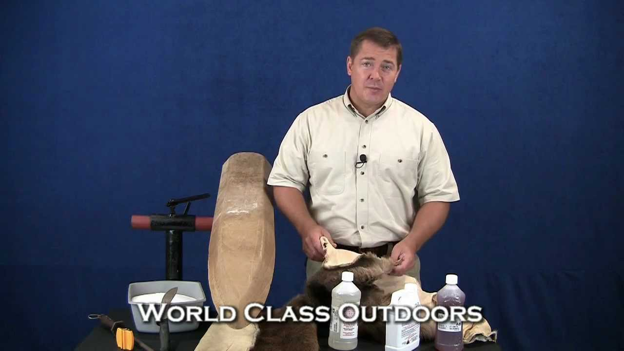 How To Tan A Hide Deer Skin Rug
